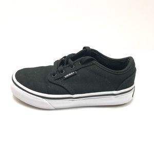 VANS Kid's Atwood Canvas Sneakers Size 12